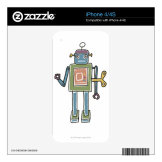 Clockwork Robot iPhone 4 Decals