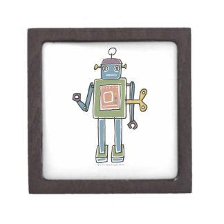 Clockwork Robot Keepsake Box