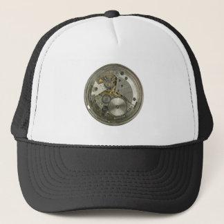 clockwork trucker hat
