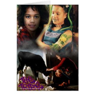 Cloe The Tribe Greeting Card