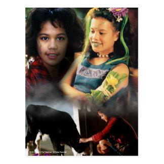 Cloe The Tribe Postcard