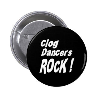 Clog Dancers Rock! Button