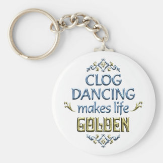 Clog Dancing is Golden Keychain