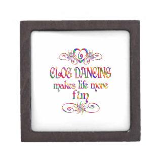 Clog Dancing More Fun Jewelry Box