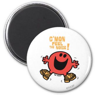 Clog Dancing Mr. Noisy 2 Inch Round Magnet