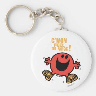 Clog Dancing Mr. Noisy Keychain