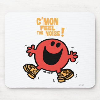 Clog Dancing Mr. Noisy Mouse Pad