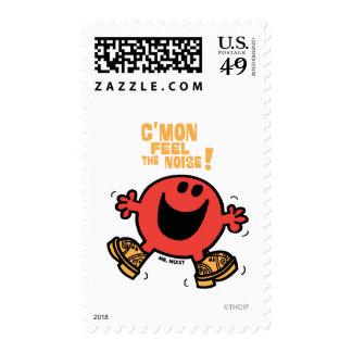 Clog Dancing Mr. Noisy Postage Stamp