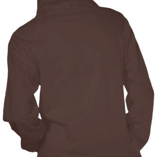 Clog Over Vine Dance Front-Back Hooded Sweatshirt
