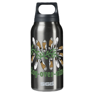 Clog Over Vine Dance Insulated Water Bottle