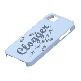 Clogger Dancers Shoes Clogging Blue iPhone SE/5/5s Case