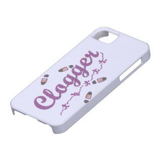 Clogger Dancers Shoes Clogging Purple iPhone SE/5/5s Case