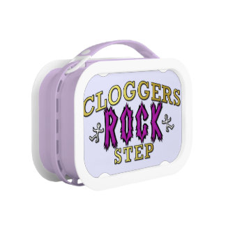 Cloggers Rock Step Clogging Dance Lunch Box