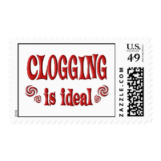 Clogging is Ideal Postage