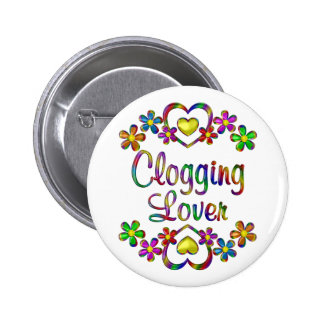 Clogging Lover 2 Inch Round Button