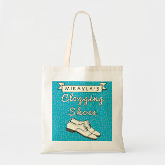 Clogging Shoes Personalized for Cloggers Dance 2 Tote Bag