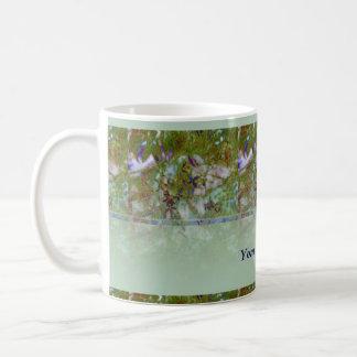 Cloisonne Blue Green Coffee Mug