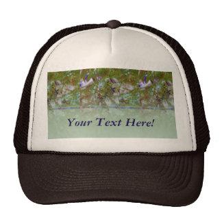 Cloisonne Blue Green Trucker Hat