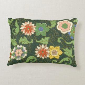 Cloisonne China Pattern Asian Decorative Pillow