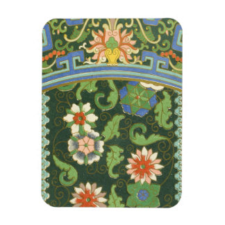 Cloisonne China Pattern Asian Magnet