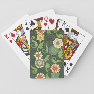 Cloisonne China Pattern Asian Playing Cards