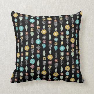 cloisonne stripe black pillow