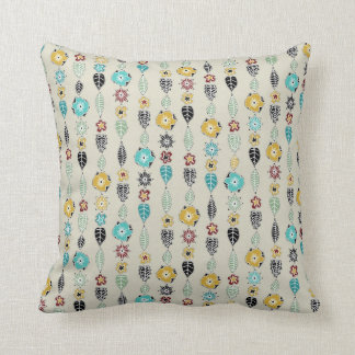 cloisonne stripe linen pillow