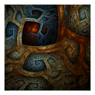"""Cloistered Worlds"" Fine Art Print"