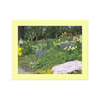 Cloisters Gardens #5 Canvas Print