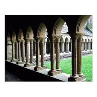 Cloisters, Iona Abbey Post Card