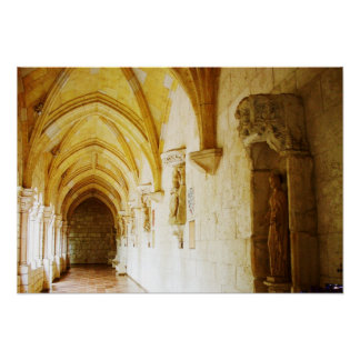 Cloisters of the Ancient Spanish Monastery, FL Poster