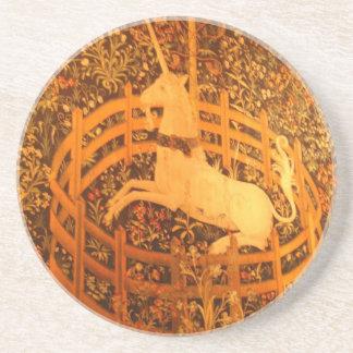 Cloisters Unicorn Sandstone Coaster
