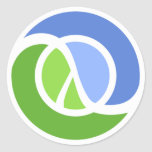 """Clojure Stickers 1.5"""" - Sheet of 20"""