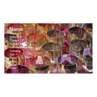 Clolored Glasses Business Card