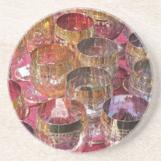 Clolored Glasses Coaster