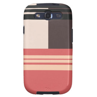 Clolorful Retro Patterns Striped - SS Galaxy case Galaxy S3 Cases