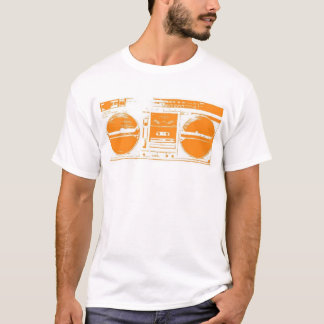 "clomp ""the searcher"" orange T-Shirt"