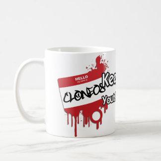 Clone #08 classic white coffee mug