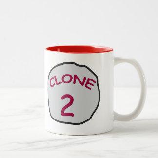 CLONE 2 Two-Tone COFFEE MUG