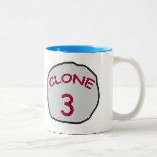 CLONE 3 Two-Tone COFFEE MUG