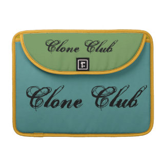 clone club cool green theme Orphan Black bag Sleeve For MacBook Pro