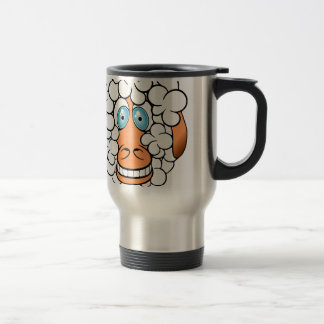 clone me! 15 oz stainless steel travel mug