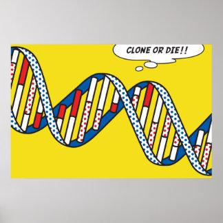 Clone Or Die!! Poster