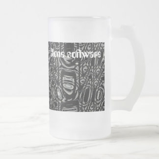 Clone software   -  cup to go! 16 oz frosted glass beer mug