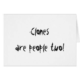 Clones Card
