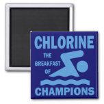 Cloro el desayuno de campeones imanes