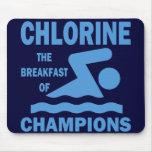 Cloro el desayuno de campeones tapete de ratones