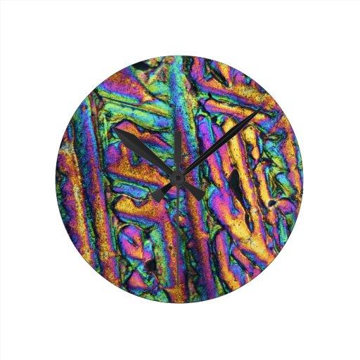 Cloruro de los elementos/del bismuto debajo del mi reloj de pared
