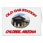 Cloruro viejo AZ de la gasolinera Felicitación