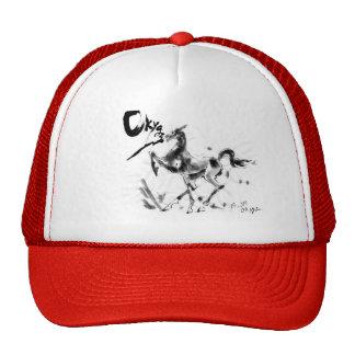 Clos Des Tekes  Akhalteke horse Trucker Hat